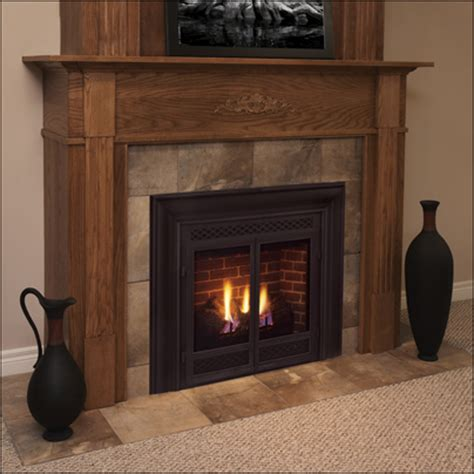 Gas Fireplace by Direct Vent Gas Fireplaces