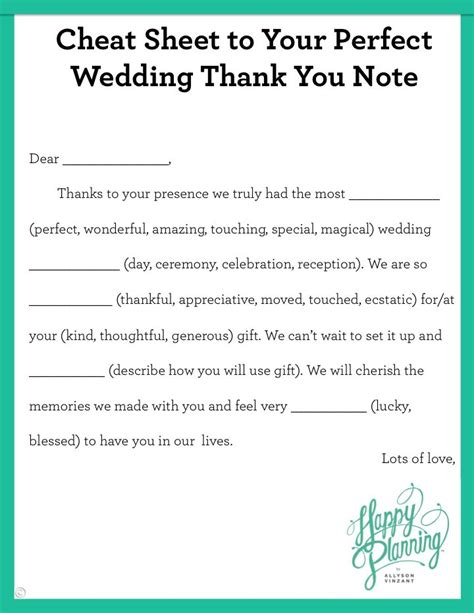thank you letter marriage gift the 25 best wedding thank you ideas on