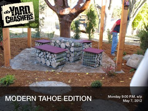 diy yard crashers projects gabion baskets for diy projects modern by midwest