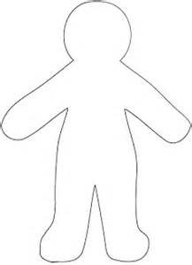 Blank Paper Doll Template by Best Photos Of Blank Paper Doll Template Blank Human