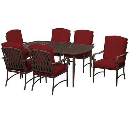 hton bay oak cliff custom 5 piece metal outdoor dining create customize your patio furniture oak cliff