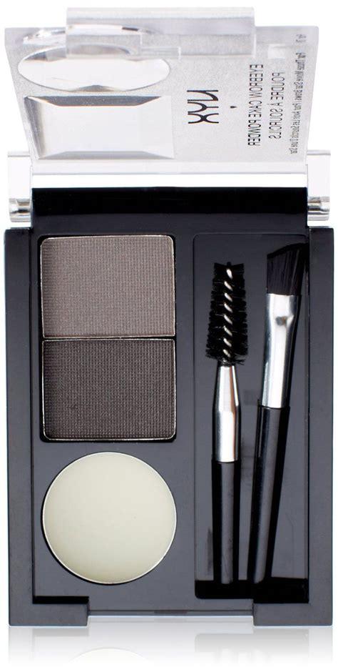 nyx professional makeup eyebrow cake powder black grey reviews photos ingredients makeupalley