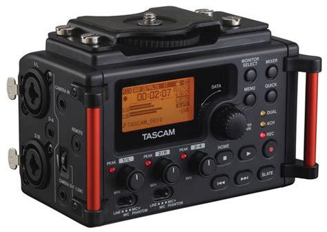 Tascam Dr 70d Professional Field Recorder tascam dr 70d 4 channel audio recorder for dslrs cinema5d