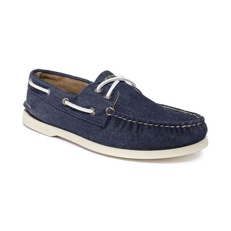 boat shoes canvas sperry top sider authentic original a o soft canvas boat