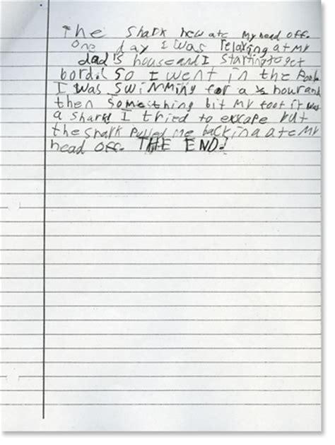 3rd Grade Essay Format third grade writing sle 3 reading rockets