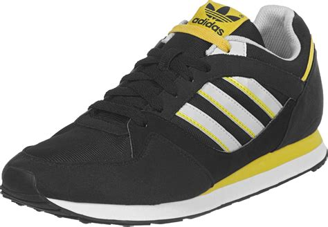 adidas zx 100 w shoes black yellow