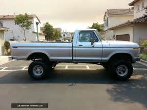 1976 ford f250 4x4 beast 6 inch lift 360 v8 automatic 4 bbl carb