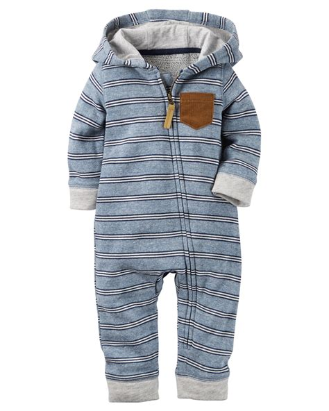 Jumpsuit Baby Hooded Terry Jumpsuit Carters