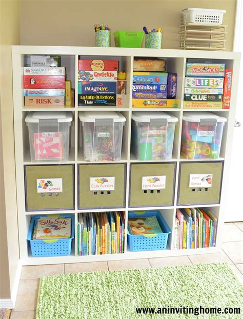 kid storage an inviting home 6 tips to organizing a kid s craft space