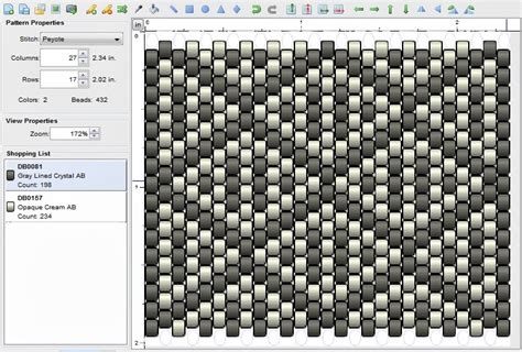 imaginesque beading peyote stitch pattern 6