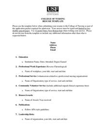 college application resume format student resume template