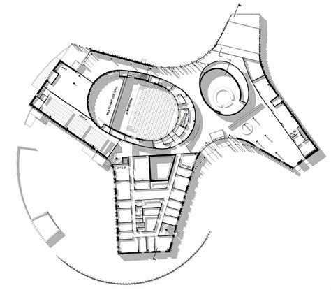 cultural center floor plan gallery of sami cultural center sajos halo architects 14
