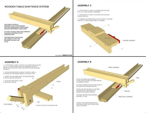 table saw fence plans best 25 table saw ideas on