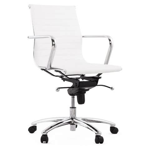 fauteuil bureau cuir blanc fauteuil de bureau couris en simili cuir blanc