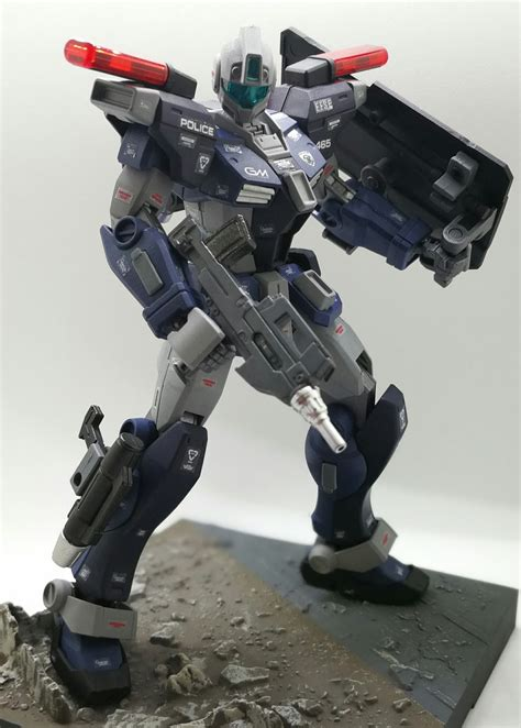gunplanerd custom bandai hguc  rgm gfp gm
