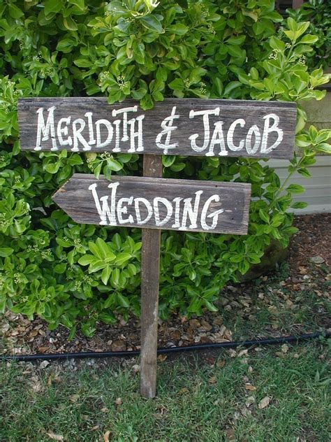 Wedding Signs by Rustic Wood Wedding Signs Images