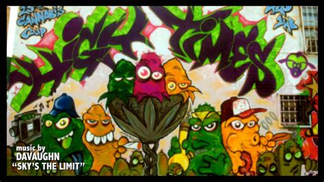 graffiti weed wallpaper high times cannabis cup graffiti mural for issue 420 by