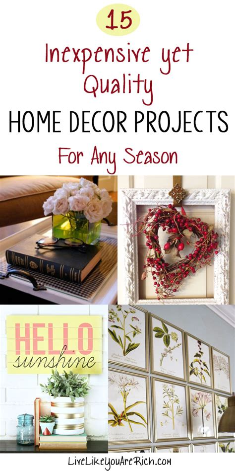 Where Can I Buy Cheap Home Decor by 15 Inexpensive Yet Quality Home Decor Projects Part 2