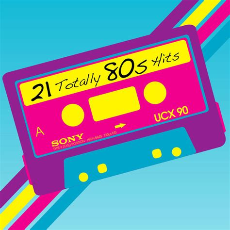80s Hits by 21 Totally 80s Hits Album Cover By Various Artists
