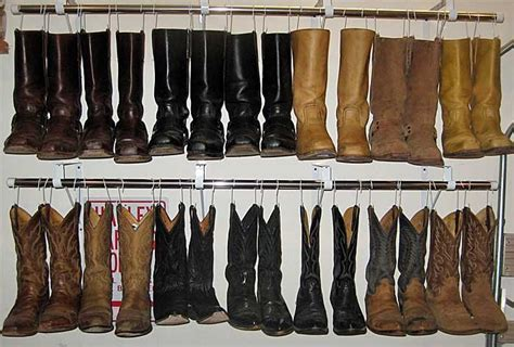 organizing boots in closet boot organizer shoes