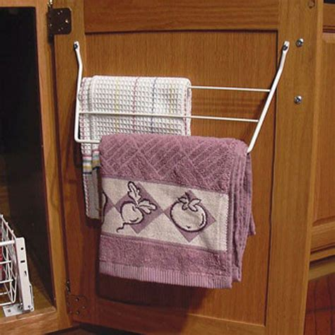 door storage undersink pullout towel holders rev