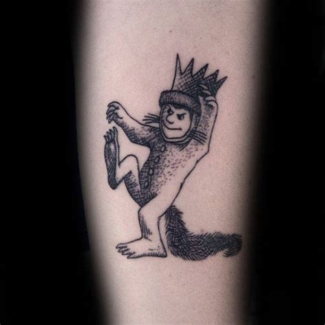 40 where the wild things are tattoo designs for men book