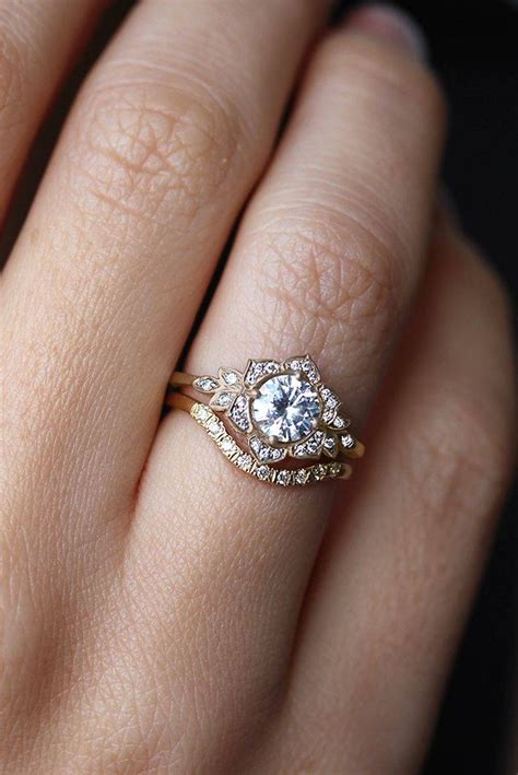 Wedding Ring With Engagement Ring by 15 Best Collection Of Kate Middleton Engagement Rings And