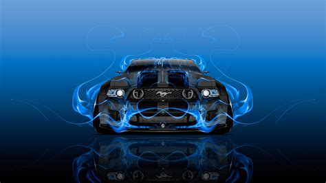 ford mustang gt tuning muscle fire car 2016 ino vision