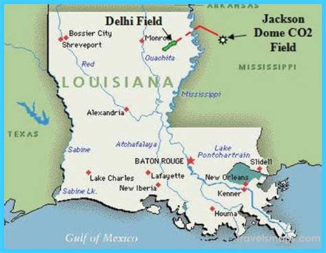 louisiana map baton map of baton louisiana vacations travel map
