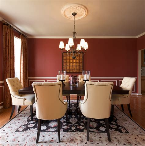 Red Dining Room Walls How To Create A Sensational Dining Room With Red Panache