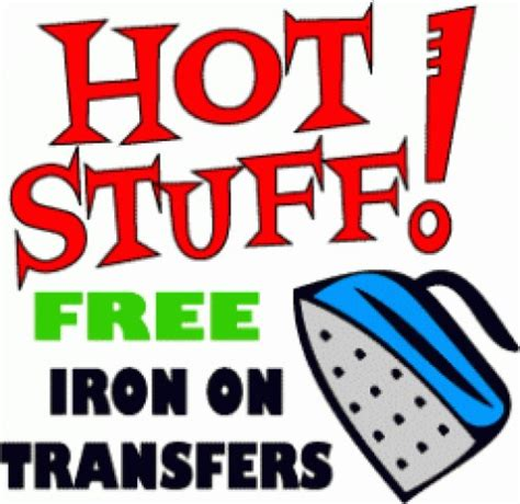 Free Printable Iron On Transfers For T Shirts | lee hansen on hubpages