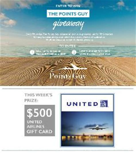 Ua Gift Card - contest 500 united airlines gift card giveaway