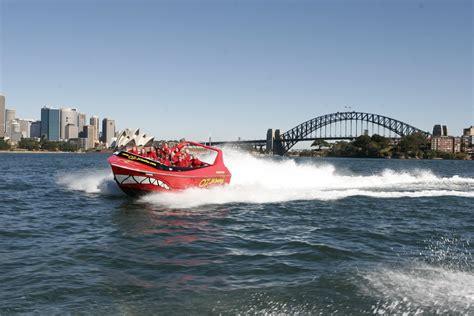 jet boat darling harbour oz jet boating sydney harbour away we go tours