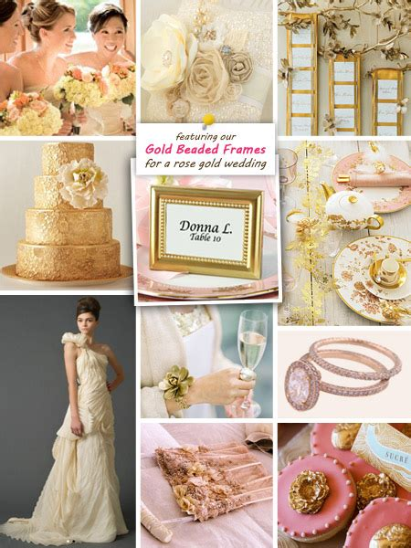 rose theme wedding ideas rose gold wedding theme beau coup blog