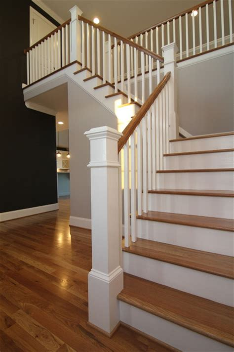 two story foyer contemporary staircase raleigh by