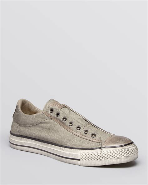 s laceless sneakers converse chuck all laceless sneakers in gray