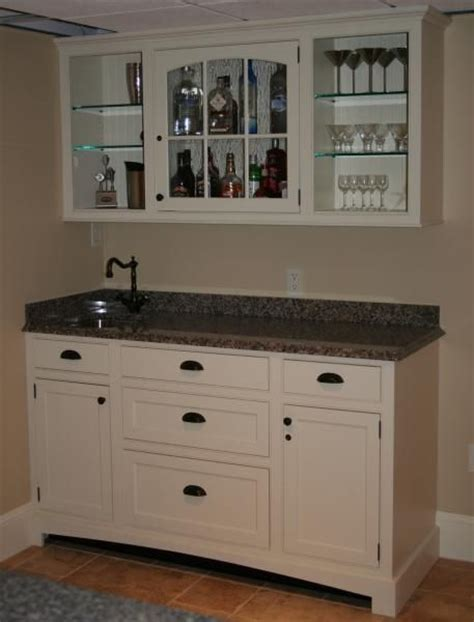 custom made top bar cabinet and sink by r a