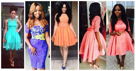 short gowns for aso ebi styles pretty good wedding guest short gowns amillionstyles com