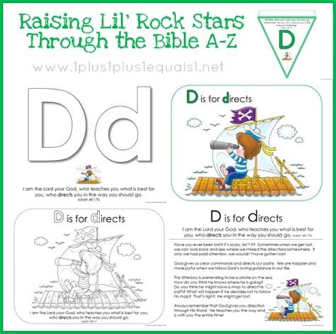 Letter Using Bible Verses Bible Verse Printables Letter D Free Bible