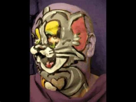 painting for tom and jerry tom and jerry facepainting by artist kuhn