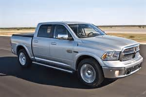 2014 ram 1500 ecodiesel v6 front view in motion 283333