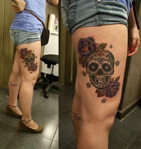 mexican skull tattoo mexican skull vi by frah on deviantart