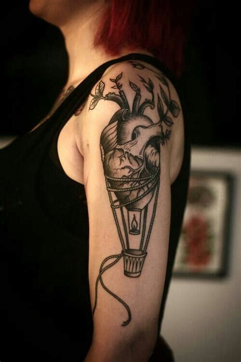 tattoo care hot water heart air balloon and hot air balloon on pinterest