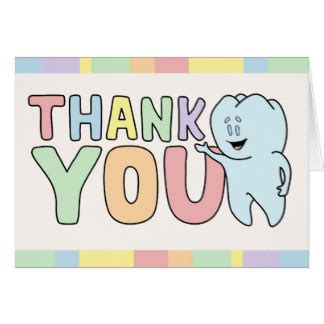 thank you cards templates with teeth thank you dentist cards thank you dentist card templates