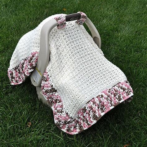 car seat knitted blanket pattern 392 best images about crochet it bb accessories only on