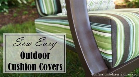 easy couch cushion covers sew easy outdoor cushion covers outdoor living