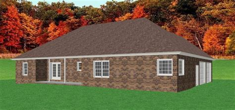 brick ranch home plans find house plans