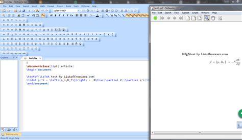 latex tutorial pdf windows 13 best free latex editors for windows