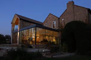 Traditional Modern Home glazing offer not only a contemporary edge to an otherwise traditional