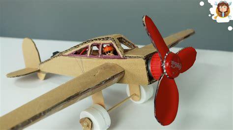 plane  dc motor cardboard plane youtube